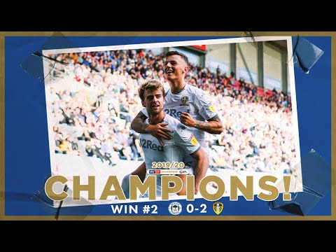 Champions! | Extended highlights | Win #2 Wigan Athletic 0-2 Leeds United