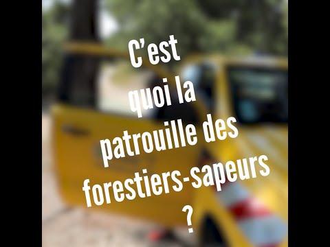 C'est quoi la patrouille des forestiers sapeurs ?