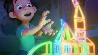 El espectáculo de luz | Los Fixis - Dibujos animados para niños