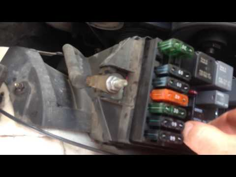 97 Grand Prix GTP starts up then dies. How to check fuel pump resistor