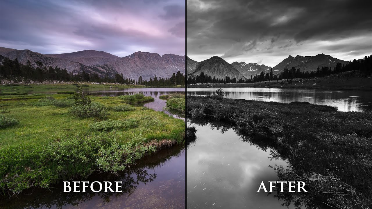 Convert photos to black and white in photoshop a powerful easy method