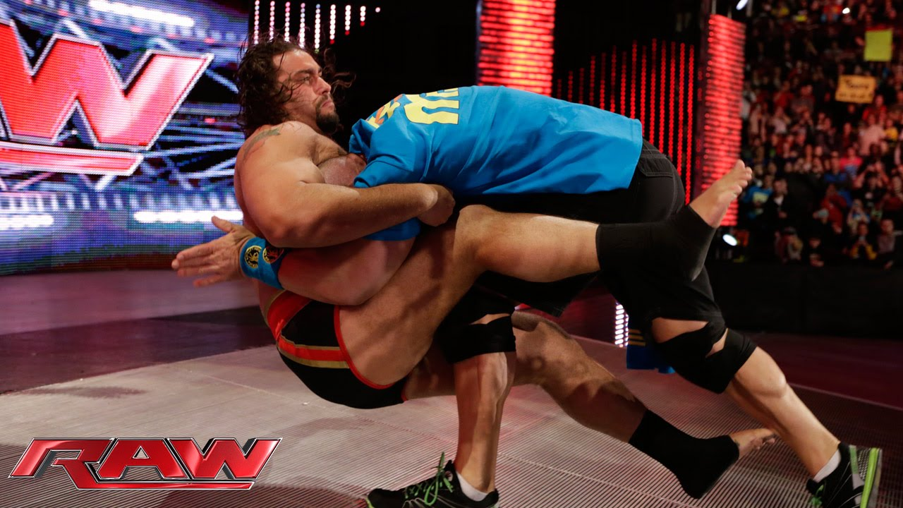 """Download Rusev and Lana """"honor"""" the career of John Cena: Raw, February 9, 2015"""