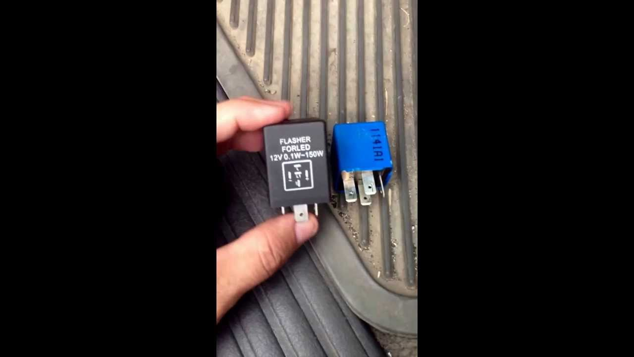 hight resolution of how to change ford explorer 2002 flasher relay for hyper flasher relay corrector youtube