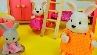 Видео для детей: Зайчата! Спокойной ночи, малыши!