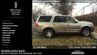 Used 2008 Lincoln Navigator | Sunrise Auto Sales, Rosedale, NY
