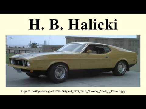 H. B. Halicki