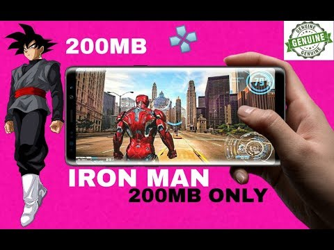 Iron Man Highly Compressed For Psp Android 2019 Offline Free New Games