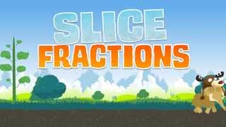 Slice Fractions - Math puzzle game