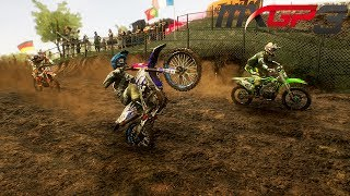 MXGP 3 Gameplay Deutsch #10 - Wheelie!!