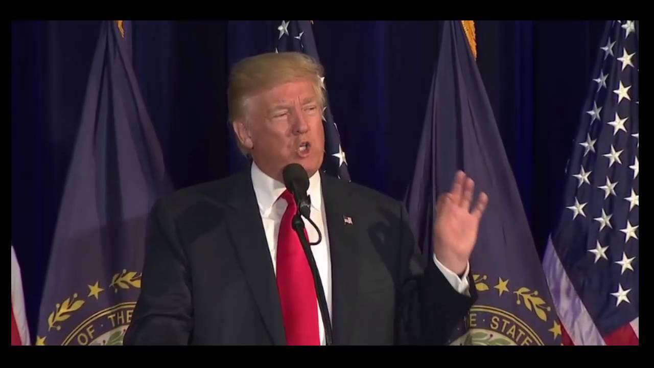 Donald Trump Laconia NH FULL Speech 9/15/16 - YouTube