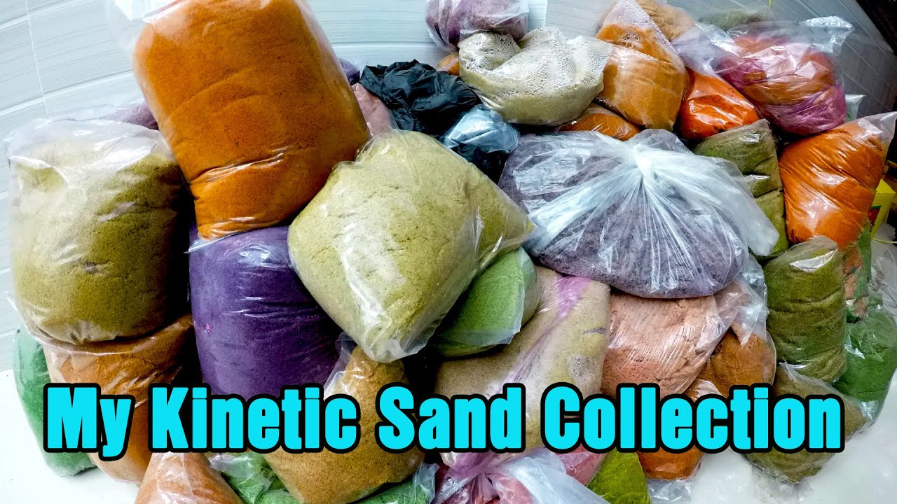 All My Kinetic Sand Collection Review!