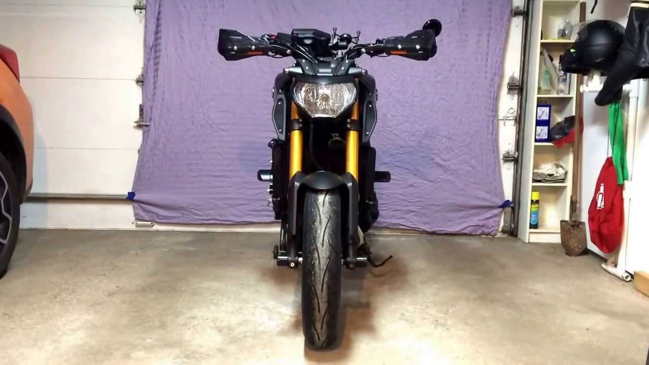 2014 Yamaha Fz 09 With Zeta Handguards With Integrated Led