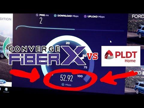 CONVERGE FIBERX VS PLDT