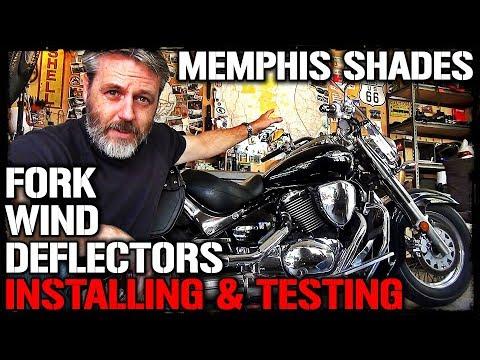 Motorcycle Fork Wind Deflectors