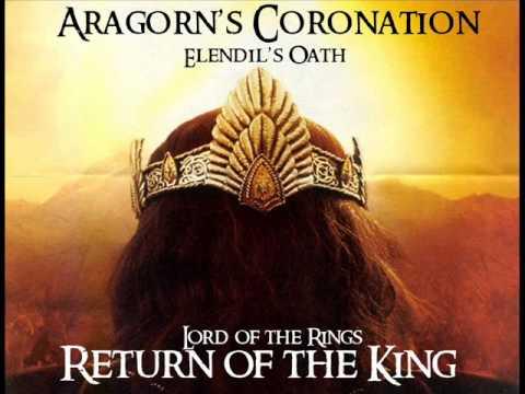 Aragorn's Coronation (Elendil's Oath) 10 Minutes