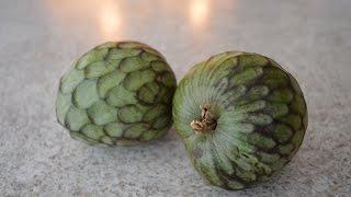 How to Prepare & Eat Cherimoya - aka Custard Apple: Cooking with Kimberly