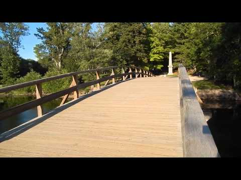 Concord, North Bridge,  Massachusetts