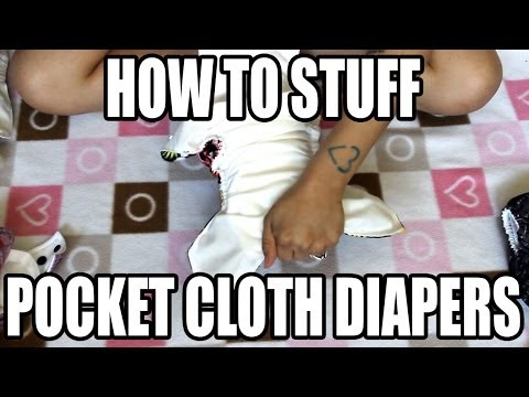 How To: Stuff Pocket Cloth Diapers