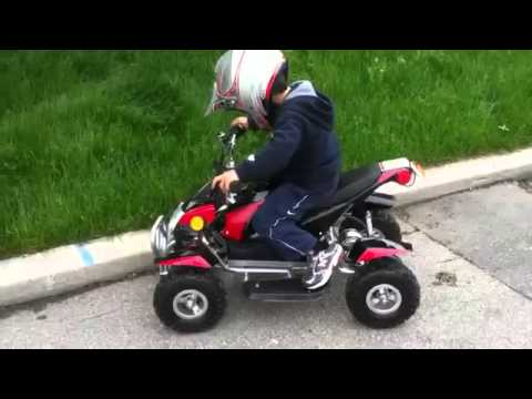 квадроциклы детские бензиновые.wmv - YouTube