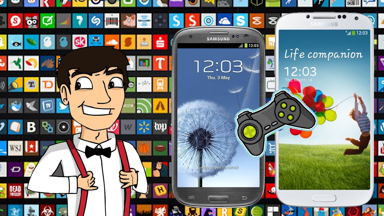 Top 10 Games On Samsung Galaxy S4 / S5