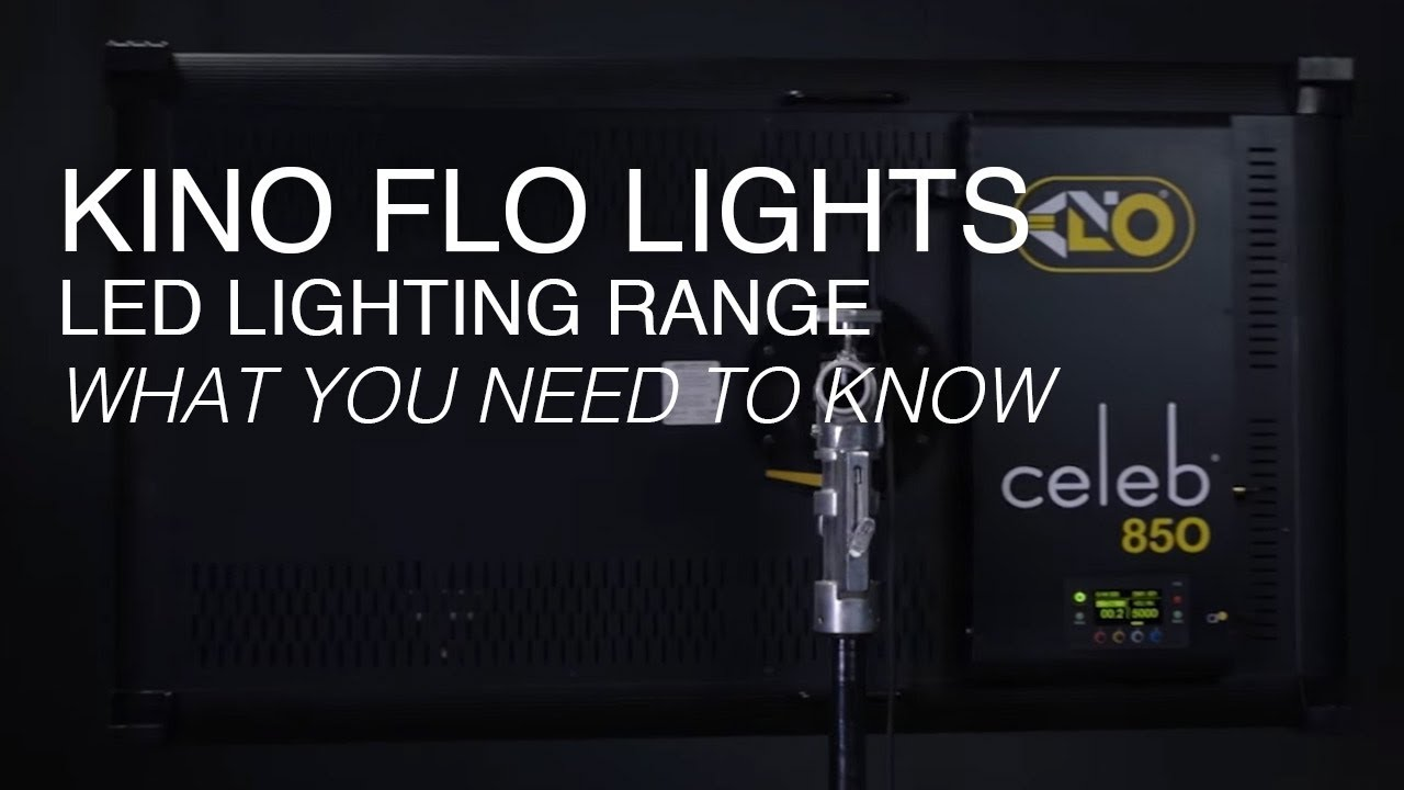 Kino Flo Lighting Overview Compare The Diva Freestyle Celeb