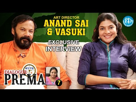 Art Director Anand Sai And Vasuki Full Interview | Dialogue With Prema | #CelebrationOfLife #7