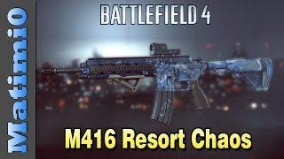M416 Resort Chaos - Squad Up! Battlefield 4