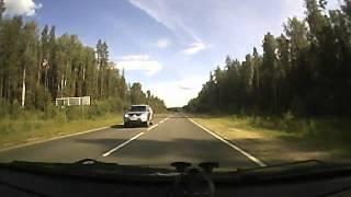 авария на дороге Вологда - Вытегра 07.07.12.