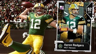 LAST SECOND HAIL MARY!! AARON RODGERS | MADDEN 19 ULTIMATE TEAM GAMEPLAY