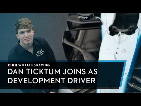 Dan Ticktum Joins the Williams Racing Driver Academy
