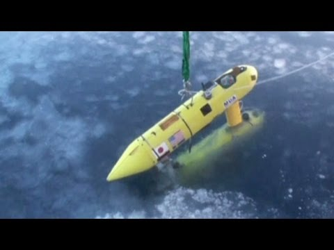 Climate scientists map Antarctic sea ice