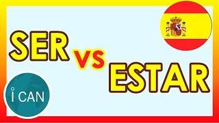 Испанский язык | Глаголы SER и ESTAR Как Использовать | УРОК 29║Испанский язык для начинающих