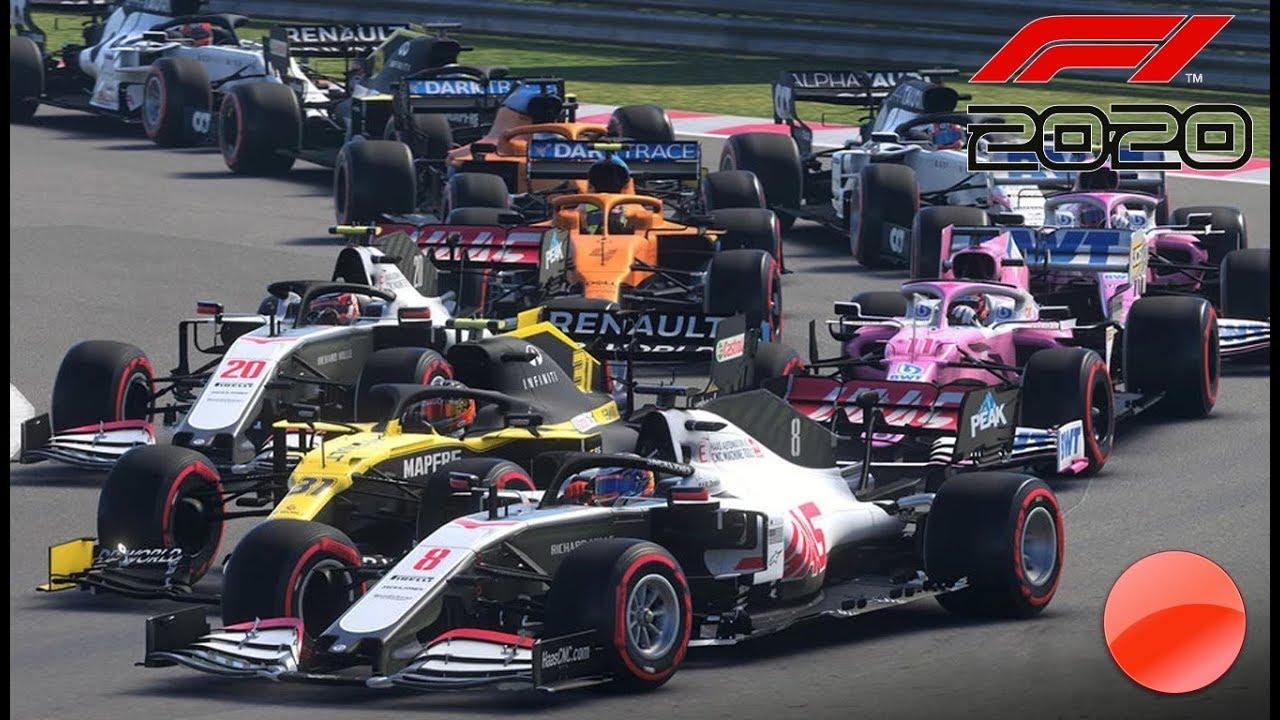 ESTRENO - F1 2020 (PRIMERAS HORAS DE JUEGO)