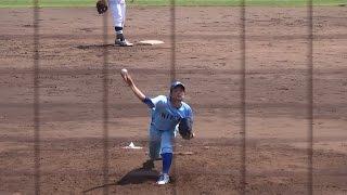 松本航 (兵庫・明石商業高校⇒日本体育大学) 176cm80kg 右右 2年生.