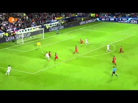 Cristiano Ronaldo Amazing Goal | Real Madrid vs Sevilla 2-0 UEFA Supercup 2014