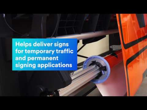 3M Digital Sign Printing with HP 365 Latex Inkjet