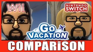 (Comparison) GO VACATION | Switch VS. Wii | 2018 VS. 2011 | Head to Head