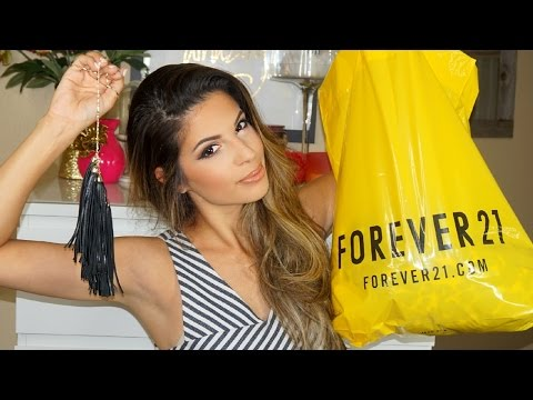 Spring Clothing Haul 2015 Forever 21, H&M...