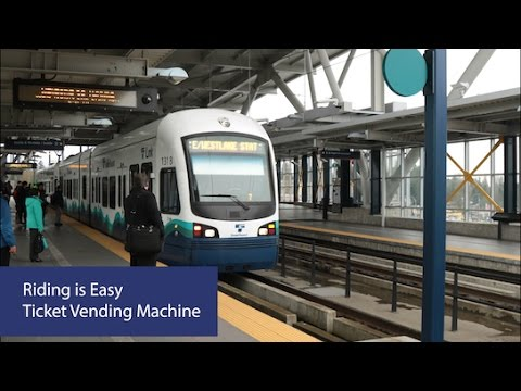 Ticket machines | Sound Transit