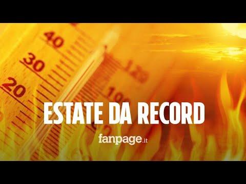 Estate, temperature da record: 'La più calda degli ultimi 100 anni'