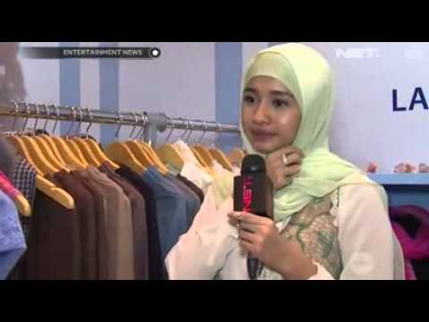 Pasca Berhijab Claudya Sintia Bella Buka Butik Mukenah Busana Muslim