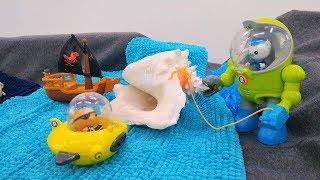 Мультик для детей. Октонавты готовятся к школе. Видео с игрушками.