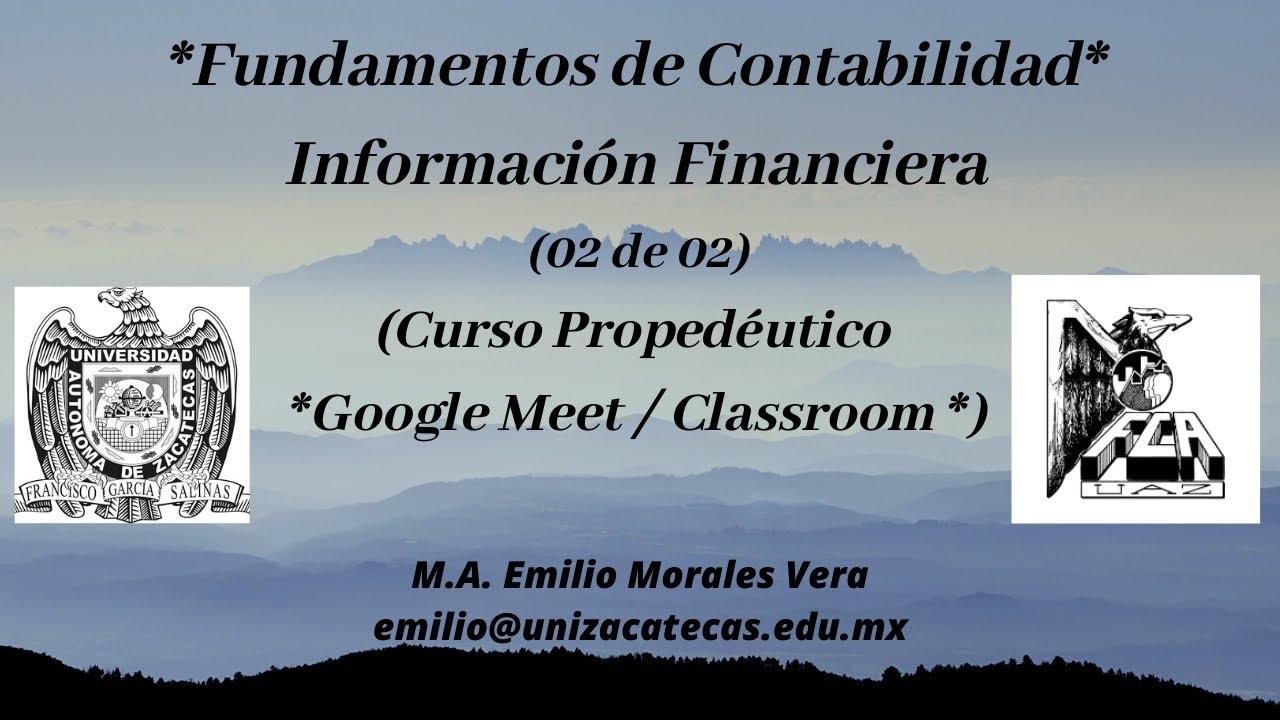 Información Financiera (2da Parte)