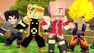 Minecraft: HARDCORE ANIMES - SAKURA! 1/3