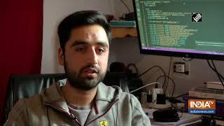 Kashmiri student develops COVID-19 tracker