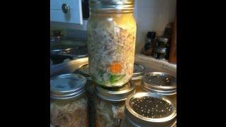 Pressure Canning Chicken Soup!  Noreen's Kitchen