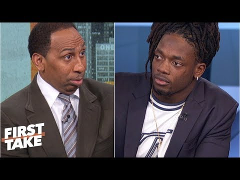 Stephen A. challenges Melvin Gordon on the Chargers' Super Bowl chances   First Take