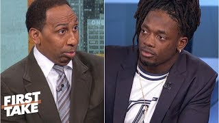 Stephen A. challenges Melvin Gordon on the Chargers' Super Bowl chances | First Take
