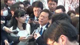 ぶら下がり会見 -IOC評価委員会 東京ビッグサイト視察後-
