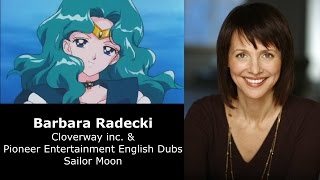Michiru (Michelle) Kaioh/Sailor Neptune English & Japanese Voice Comparison